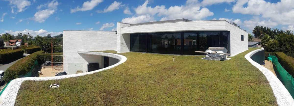 Komplette Dachsysteme mit Sedum