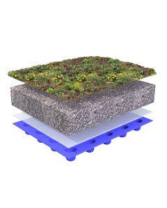 Dachbegrünungssystem mit Sedum Standard